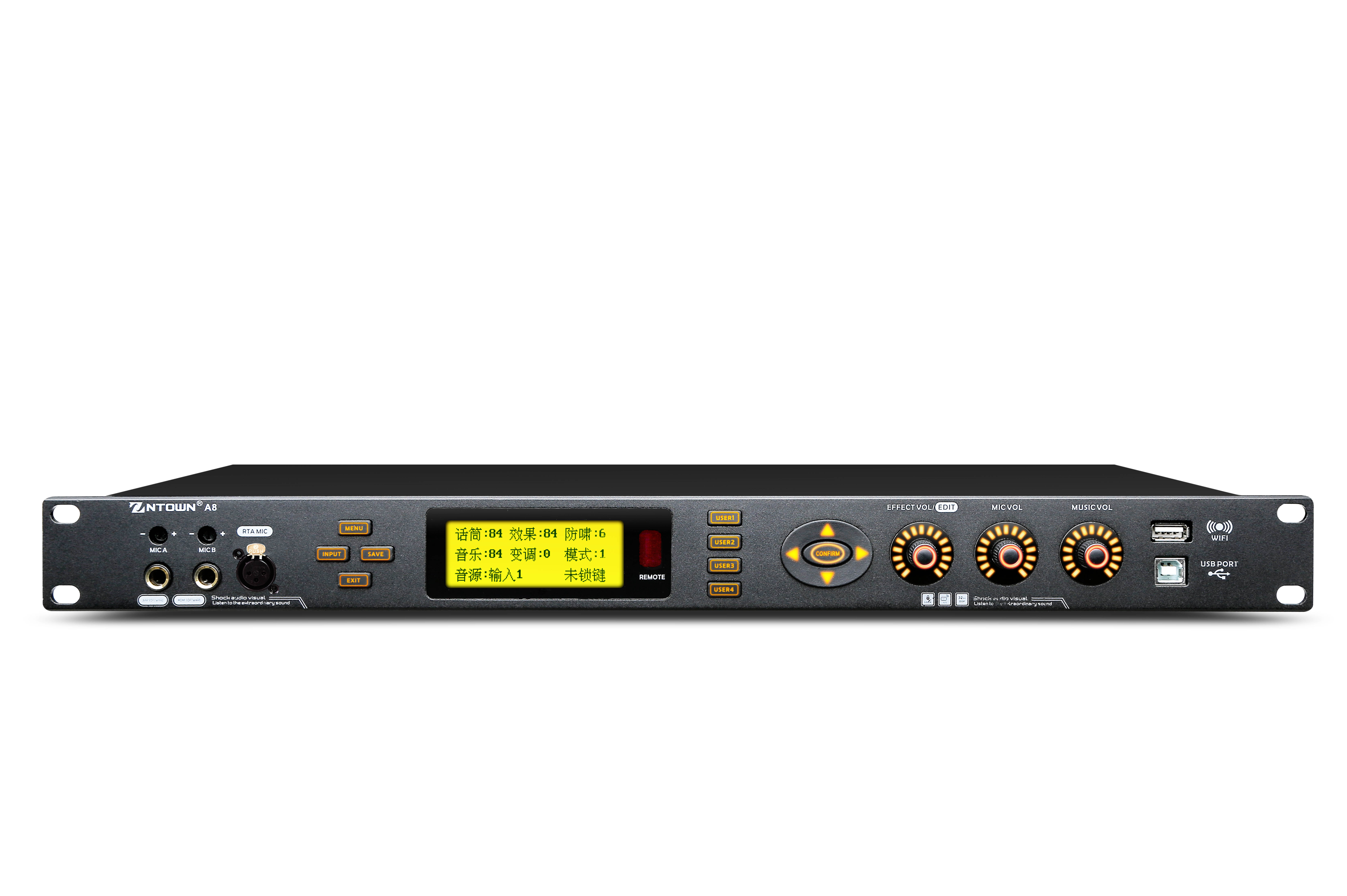 SOUND CARD PRE-STAGE EFFECTOR A8